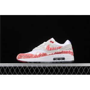 Men's Nike Air Max 1 Sketch To Shelf 30 CJ4286 101 gray red