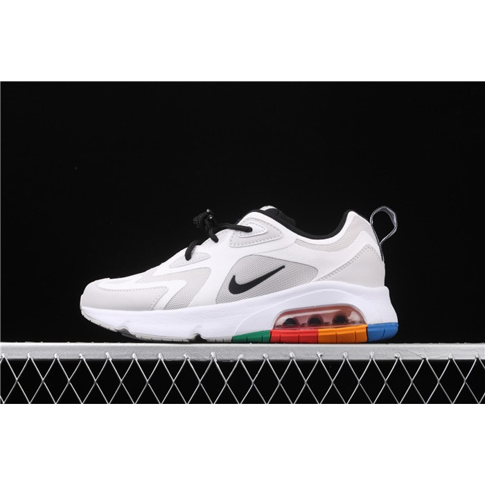 Men's & Women's Nike Air Max 200 AQ2568 002 white