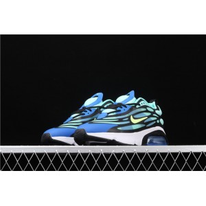 Men's & Women's Nike Air Max 200 AQ2568 200 blue black