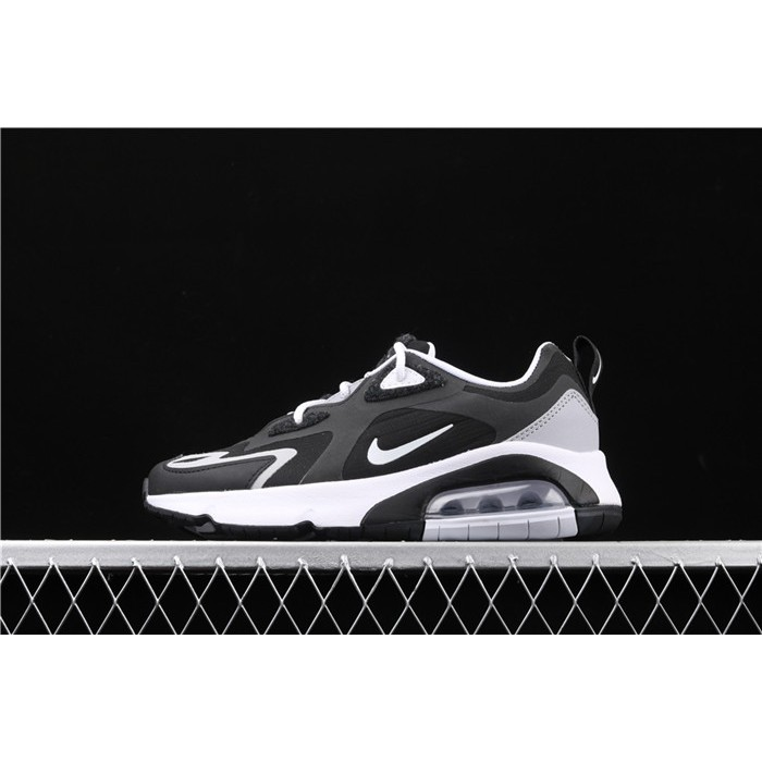 Men's & Women's Nike Air Max 200 CQ4599 010 white black