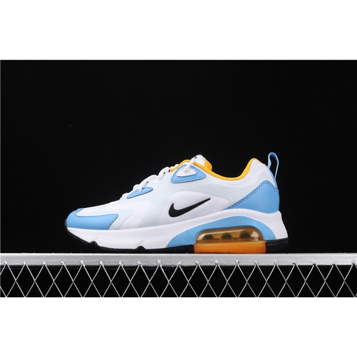 Women's Nike Air Max 200 AT6175 101 White Blue