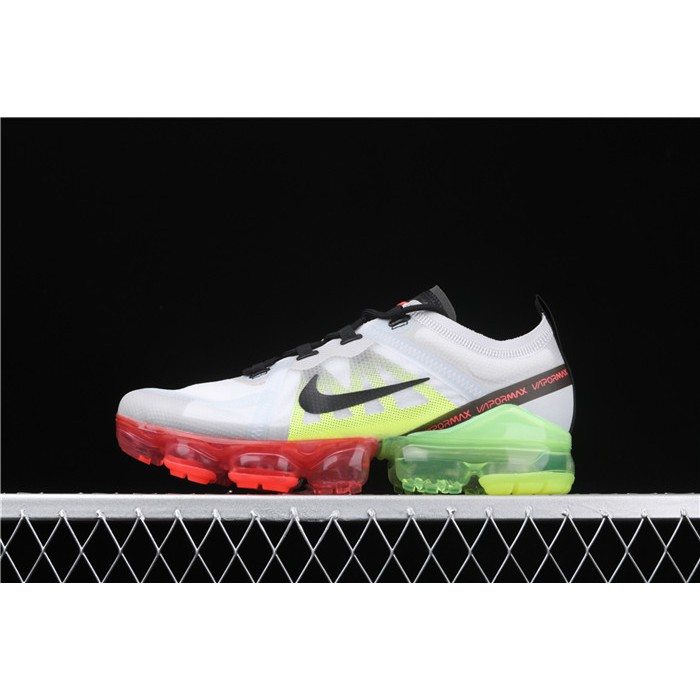 Men's Nike Air VaporMax 2019 Run Utility AR6631 007 green red