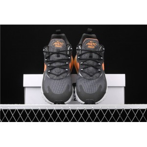 Men's Nike Air Max 270 React CQ4598 084 black orange logo