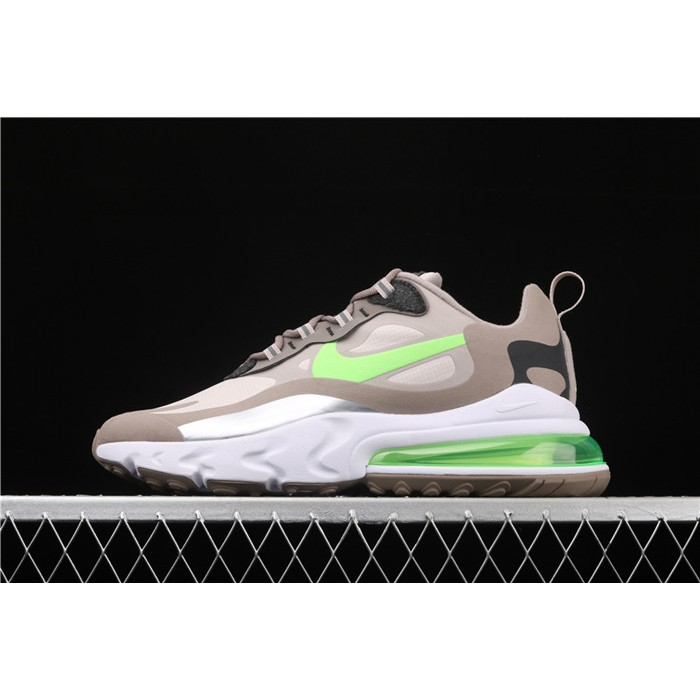 Men's Nike Air Max 270 React CQ4598 231 green logo