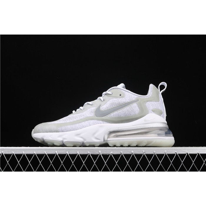 Men's Nike Air Max 270 V2 Black Tech AO4971 106 white gray