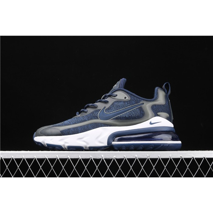 Men's Nike Air Max 270 V2 Black Tech AO4971 108 blue gray