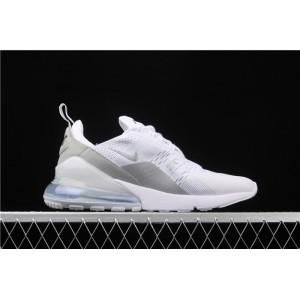 Men's & Women's Nike Air Max 270 3M BQ9240 002 white silver