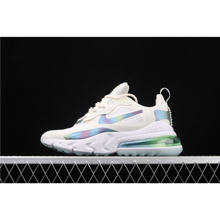 Men's & Women's Nike Air Max 270 React 2020 CT5064 100 white