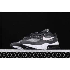 Men's & Women's Nike Air Max 270 React AO4971 001 black gray
