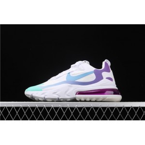 Women's Nike Air Max 270 React AT6174 102 white blue