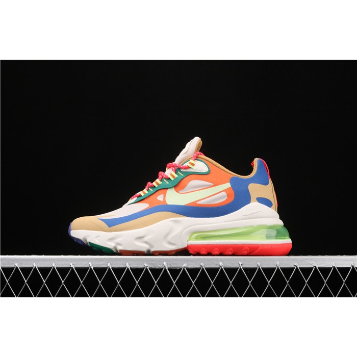 Women's Nike Air Max 270 React CQ4805 071 colorful