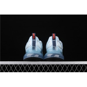 Men's Nike Air Max 720 Black Green CK5033 400 sky blue