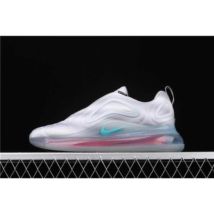 Men's & Women's Nike Air Max 720 Black Green AQ2924 011 white pink