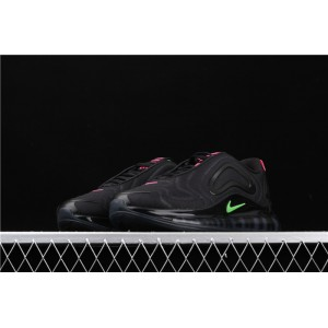 Men's & Women's Nike Air Max 720 Black Green CQ4614 001 black