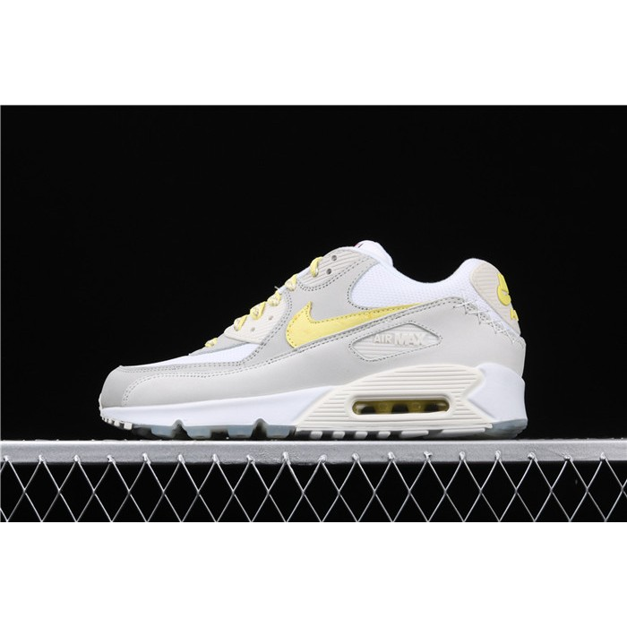 Men's Nike Air Max 90 CI6394 100 white yellow