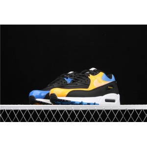 Men's Nike Air Max 90 CT9140 001 yellow blue