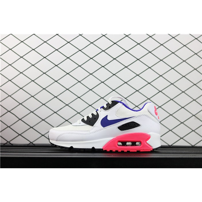 Men's & Women's Nike Air Max 90 Essential 537384 136 white purple
