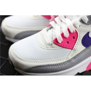 Women's Nike Air Max 90 Essential 325213 136 purple rose red