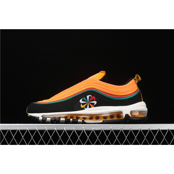 Men's & Women's Nike Air Max 97 CK9399 001 orange black