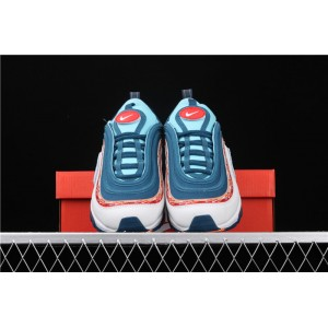 Men's & Women's Nike Air Max 97 CQ4818 400 white sky blue