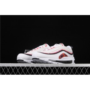 Men's & Women's Nike Air Max 97 CU4731 100 white red black