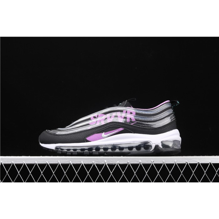Men's & Women's Nike Air Max 97 DB BV7114 001 black purple silver