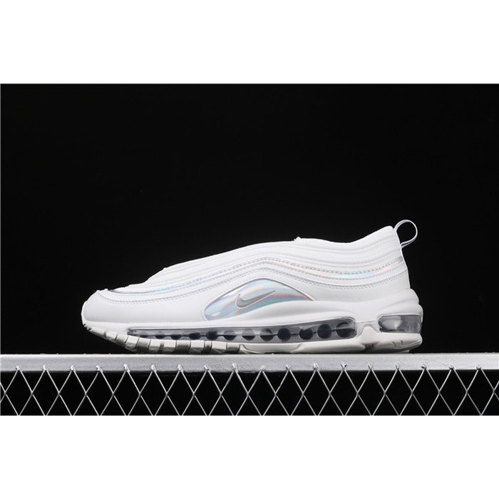 Men's & Women's Nike Air Max 97 London CJ9706 100 white silver