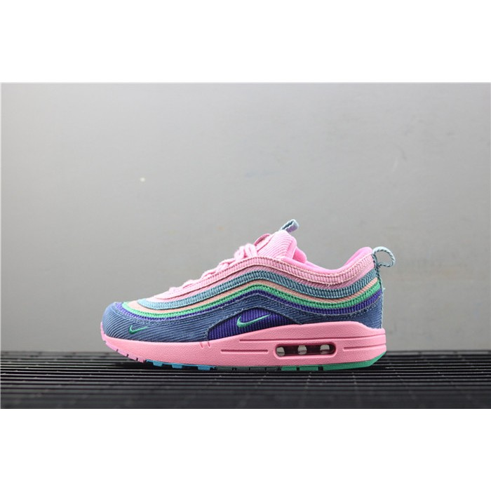 Women's Nike Air Max 97 Wotherspoon AJ4219 405 blue pink green