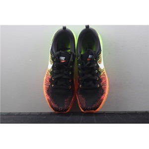 Men's Nike Air Max Flyknit 620469 018 orange green