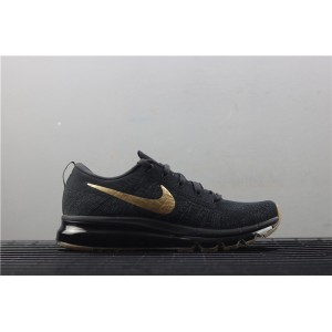 Men's Nike Air Max Flyknit 845615 993 black