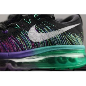 Women's Nike Air Max Flyknit 620659 001 blue purple